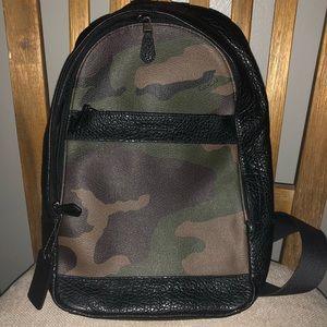 CAMO leather  COACH crossbody bag